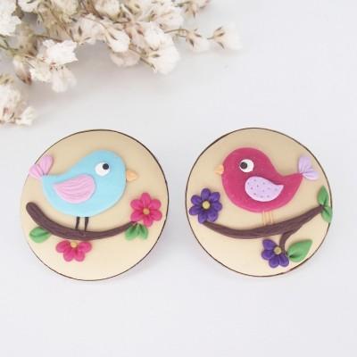Broșă A Bird's Song