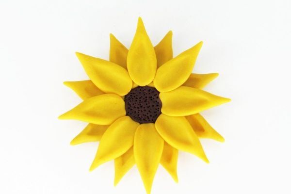 Broșă Sunflower