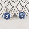 Cercei argint Royal Blue