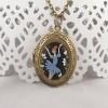 Pandantiv medalion Blue Ballerina