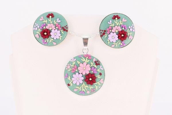 Set argint Spring Blossom