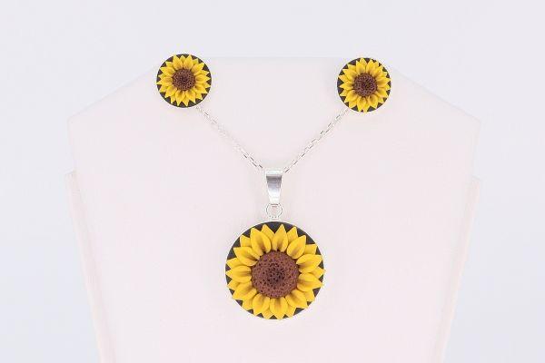 Set argint Sunflower